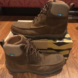 Twisted X men's work boots size 12